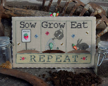 click here to view larger image of Sow, Grow, Eat (w/buttons)  (chart)