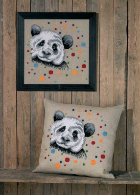 click here to view larger image of Panda (counted cross stitch kit)