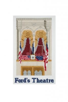 click here to view larger image of Fords Theater (counted cross stitch kit)