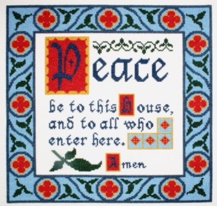 click here to view larger image of House Blessing (counted cross stitch kit)