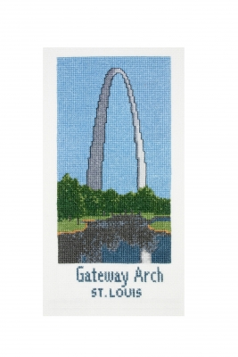 click here to view larger image of Gateway Arch (counted cross stitch kit)