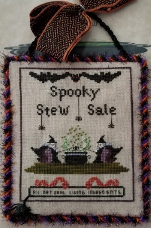click here to view larger image of Spooky Stew (chart)