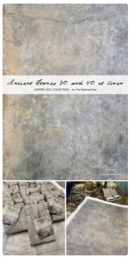 click here to view larger image of Ancient Stones - 40ct  (Primitive Hare Fabric)