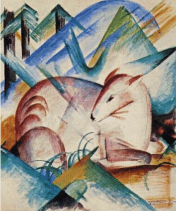 click here to view larger image of Red Deer - Franz Marc (chart)