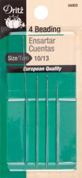 click here to view larger image of Dritz Beading Needles 56BD (needles)