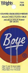 click here to view larger image of Boye Cross Stitch Needles (needles)